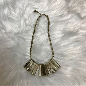 H&M Jewelry - H&M gold statement necklace
